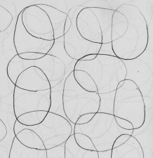 Drawing of ovals - attempting to draw eggs